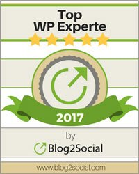 Siegel WordPress Experte - Markus Zarte