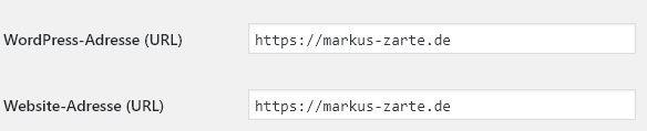 SSL-Verschlüsselung in WP ändern