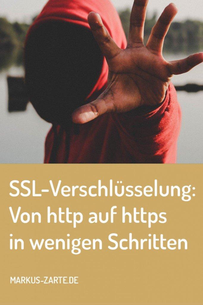 Von SSL-Verschlüsselung - http auf https in wenigen Schritten
