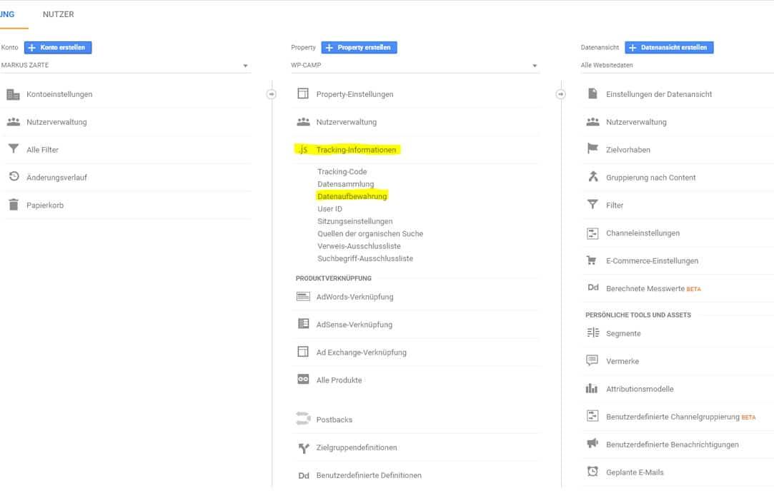 ADV mit Google abschließen - Step 3