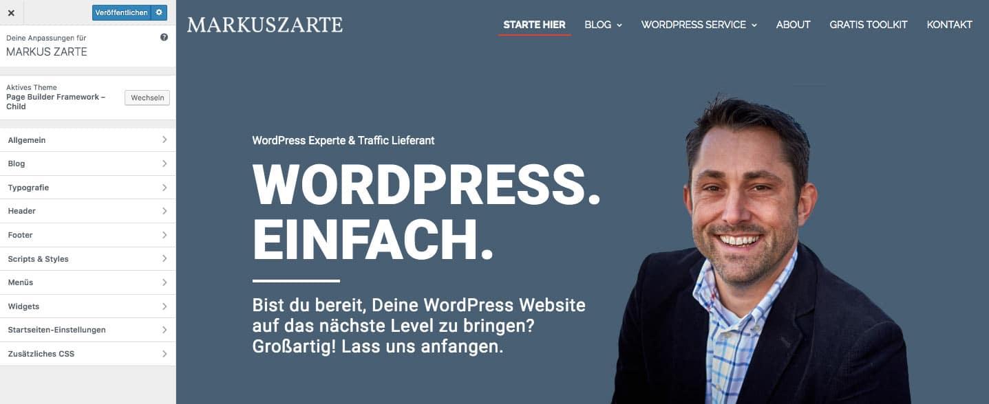 Eigene WordPress Seite 06