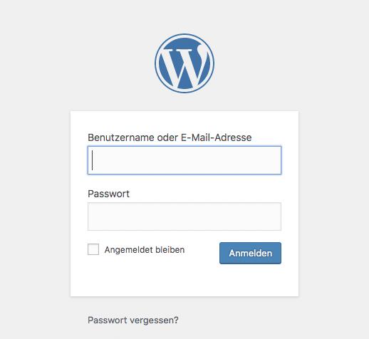 Eigene WordPress Seite 03