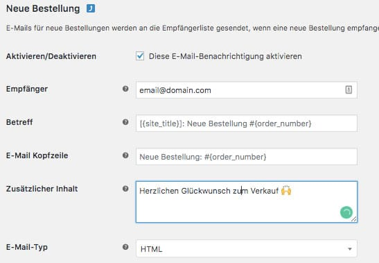 WooCommerce Webshop erstellen - Screenshot 14