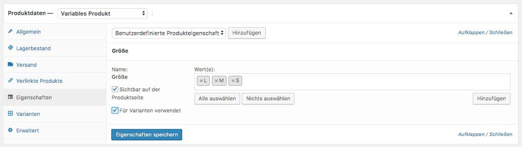 WooCommerce Webshop erstellen - Screenshot 10