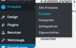 WooCommerce Webshop erstellen - Screenshot 1