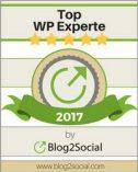 Siegel WordPress Experte - Markus Zarte