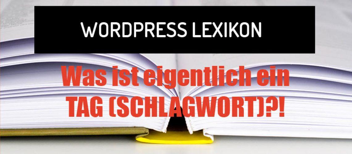Was ist eigentlich ein Tag in WordPress?