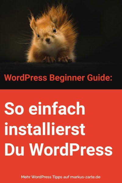 So installiert Du WordPress bei WebGo